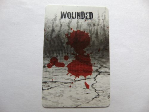 rue morgue survivor action card (wounded)